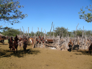 Semi-nomadische Himba, Kaokoland Namibia