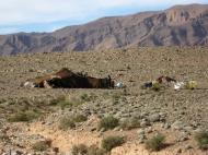 Nomadenzelt in Marokko
